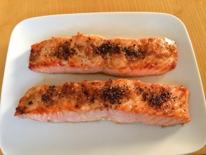 Salmon with Pepper
